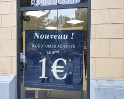 VIZYON - Saint-Michel-sur-Orge - Vitrines boutiques - PARIS - VITROPHANIE http://www.vitrophanie-paris.fr